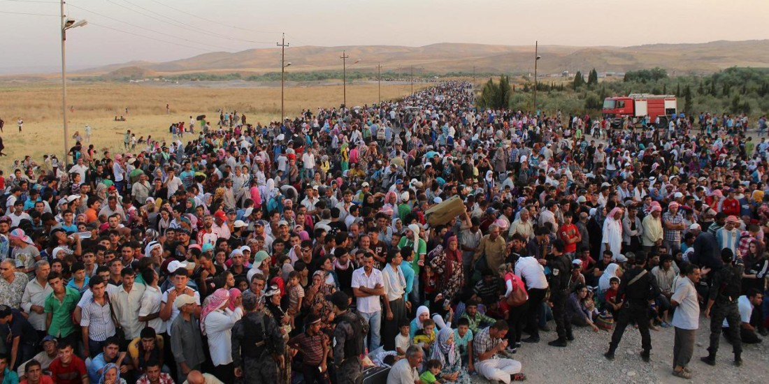 APTOPIX Mideast Iraq Syrian Refugees